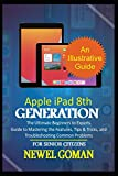 APPLE iPAD 8TH GENERATION for SENIOR CITIZENS: The Ultimate Beginners to Experts Guide to Mastering the Features, Tips & Tricks, and Troubleshooting Common Problems
