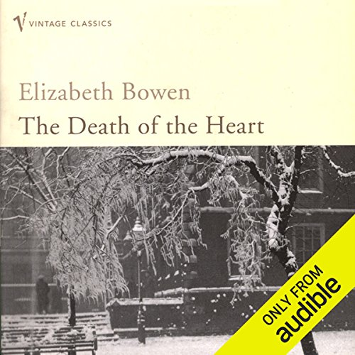 The Death of the Heart audiobook cover art