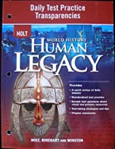 Best holt world history human legacy tests Reviews