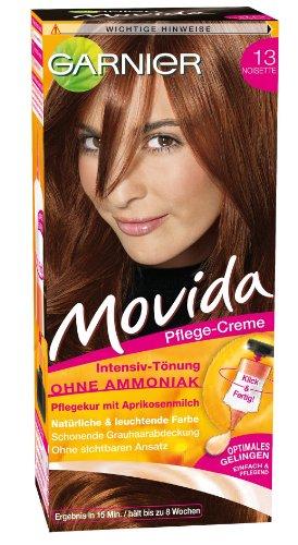 Movida Pflege Creme Intensiv-Tönung 13 Noisette 105ml