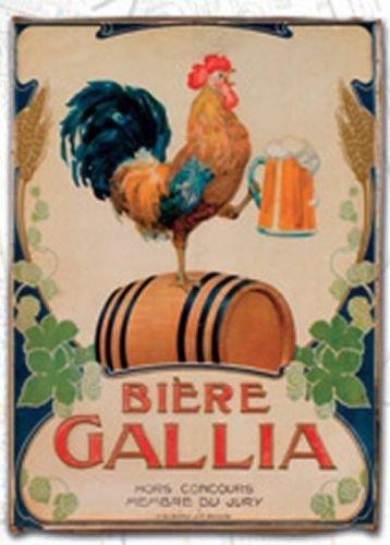 Torchons DE Cuisine 45x65 cm PUB Retro Biere Gallia DE Marseille