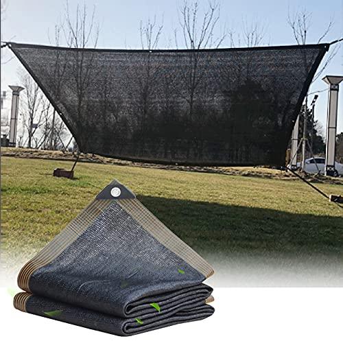 ALGFree Toldo Parasol Rectángulo 95% de Bloqueo UV Paño de Oscurecimiento para Jardín Patio Pabellón con Cuerdas Libres, Choza del Patio Protector Solar Toldos Exterior , Personalizable