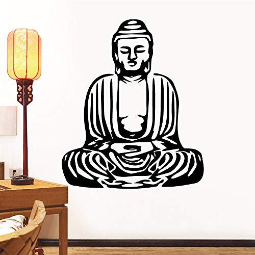Tianpengyuanshuai Cartoon Boeddhist waterdichte muursticker wanddecoratie decoratie decoratie woonkamer decoratie behang