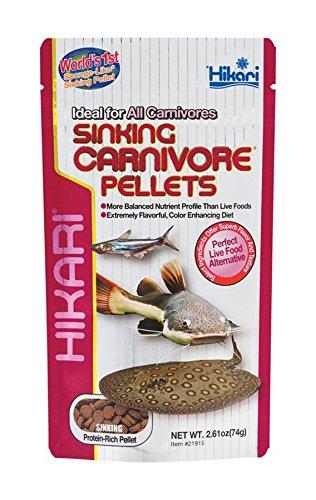 Hikari Sinking Carnivore Pellets for Pets, 2.61-Ounce