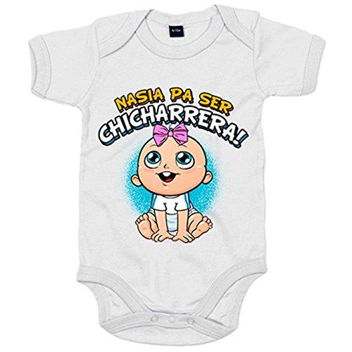 Body bebé nacida para ser Chicharrera Tenerife fútbol - Blanco, 12-18 meses