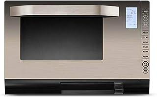 SUQIAOQIAO Horno de microondas de Oro Vapor de la máquina Horno casero Horno Inteligente