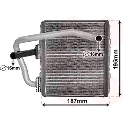 Radiador de calefacción para Subaru Forester