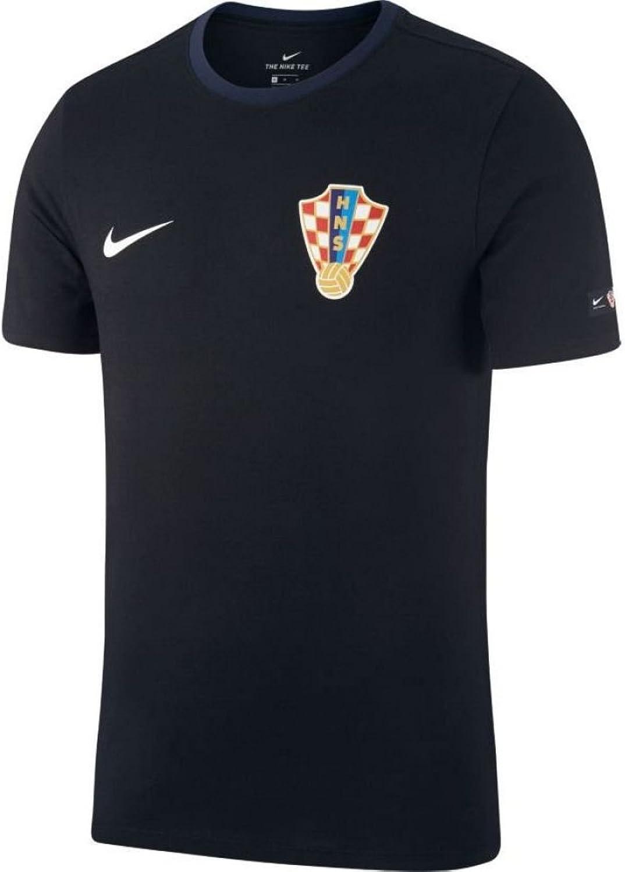Nike 2018-2019 Croatia Crest Tee (schwarz) B07BVMGFXG  Viele Viele Viele Sorten 733750