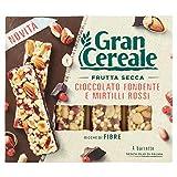 Gran Cereale Barrette di Frutta Secca con Cioccolato Fondente e Mirtilli Rossi, 120g