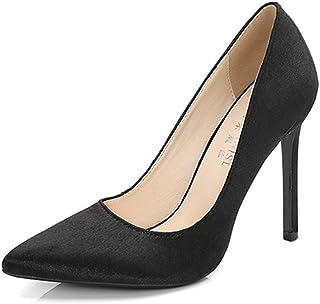 [OceanMap] ハイヒール ピンヒール ポインテッドトゥ パンプス パーティー フォーマル 通勤 結婚式 甲浅 美脚 ヒール 靴 かわいい 痛くない ハイヒール 走れる 歩きやすい 大きいサイズ コスプレ 女装 26 26.5cm