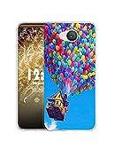 Sunrive Kompatibel mit Elephone P9000 Lite Hülle Silikon, Transparent Handyhülle Schutzhülle Etui Hülle (Q Ballon)+Gratis Universal Eingabestift MEHRWEG