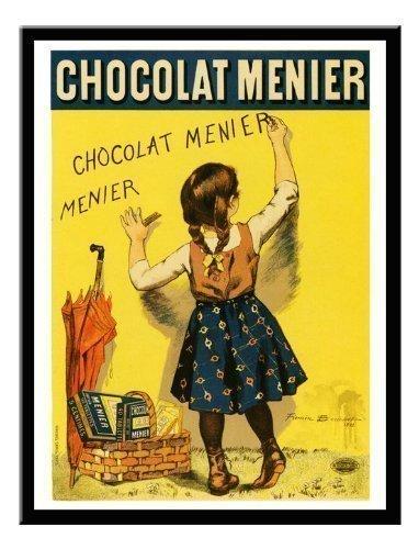 iPosters Chocolat Menier Firmin der Ältere von Amiens Bouisset Jugendstil Print Memo Board, Magnet...