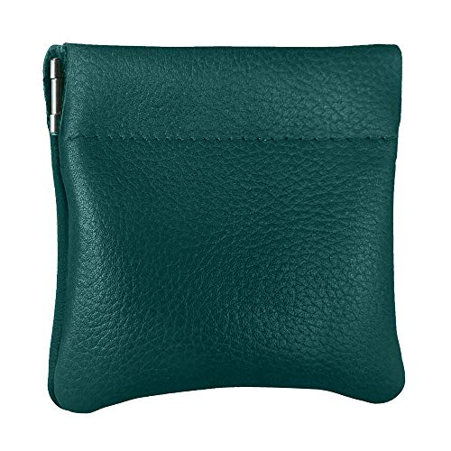 Nabob Leather Genuine Leather Squeeze Coin Purse,...