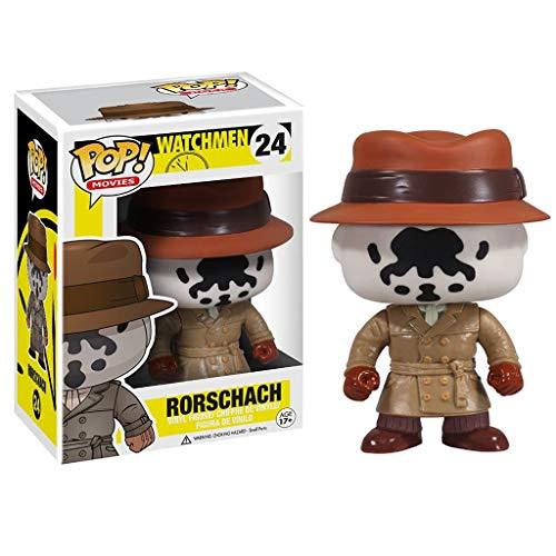 Nologo YYBB Pop-Figur!Watchmen - Rorschach Von Film-Geschenk-Sammlung Dekorative Spielzeug 3,9 Inches Figurines