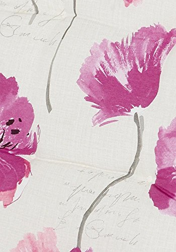 Sierkussen 50x50cm - bloem ecru