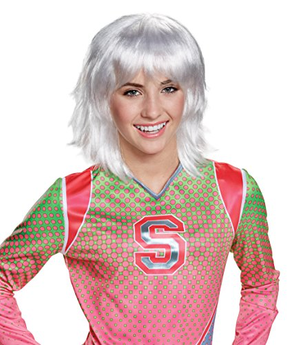 Disney Zombies Addison Platinum Girls' Wig