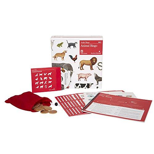 Active Minds Tombola Audio degli Animali: Giochi per Anziani Specifici per Le Persone Affette da Demenza/Alzheimer