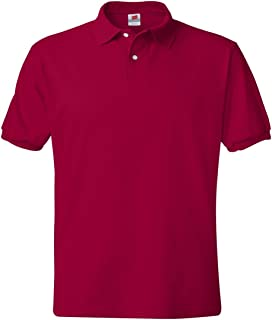 Hanes Adult ComfortBlend EcoSmart Jersey Polo Shirt