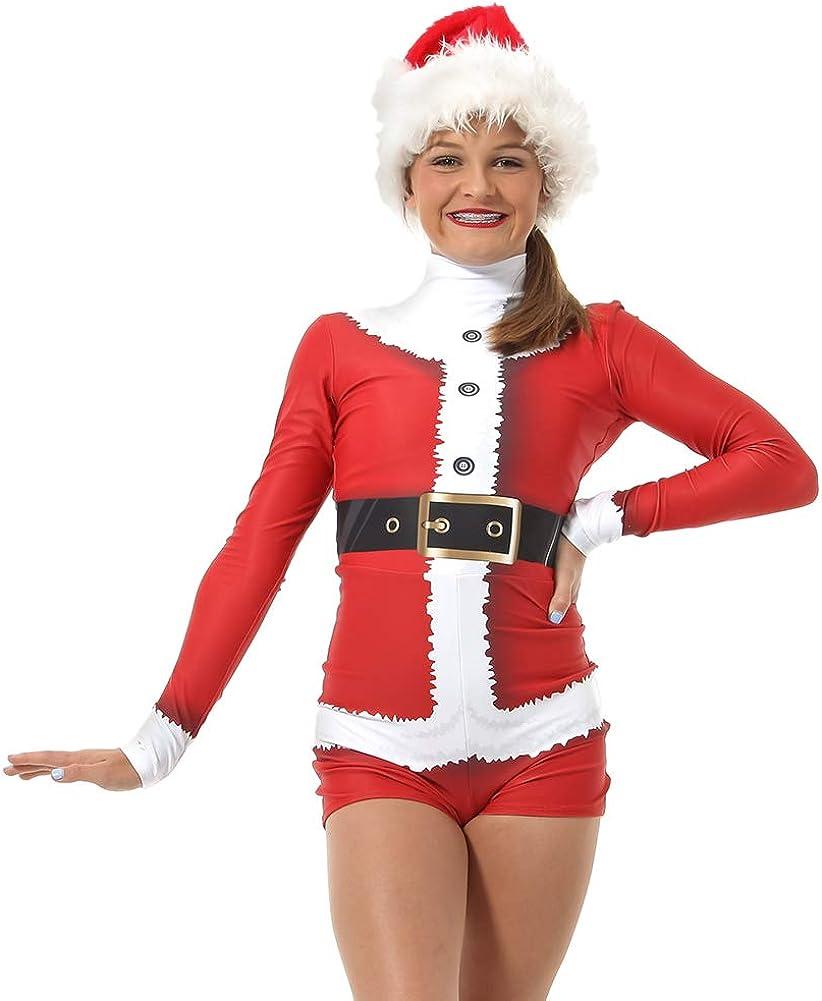 Alexandra Collection Women's Girl's safety Santa Cheap bargain Dance Biketard Costume