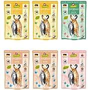 GranataPet Delicatessen Multipack PUR, Nassfutter für Katzen im Probierpaket, Alleinfuttermittel ohne Getreide, Katzenfutter mit hohem Fleischanteil & hochwertigen Ölen, 6 x 85 g