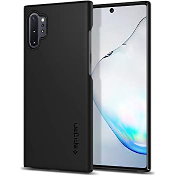 Spigen Thin Fit Designed for Samsung Galaxy Note 10 Plus Case/Galaxy Note 10 Plus 5G Case (2019) - Black
