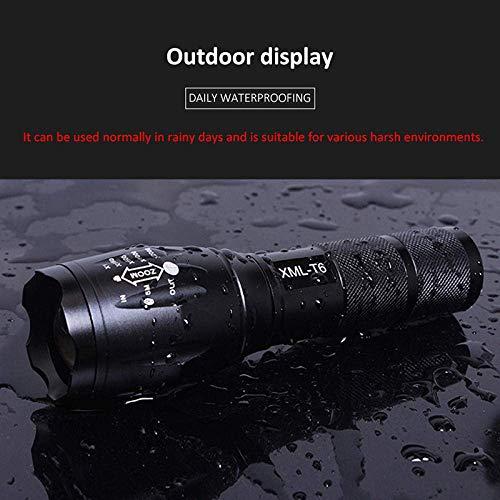WCY Camping Lichter Camping Leuchten und Laternen wiederaufladbare Lampen LED-Taschenlampe 5 Modelle Ultra Bright Taschenlampe Q5 / T6 / L2 wasserdichte Camping-Fahrrad-Licht-1_L2 yqaae (Color : L2)