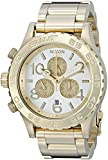 Nixon Men's A037-1219 42-20 Chrono Gold-Tone Watch