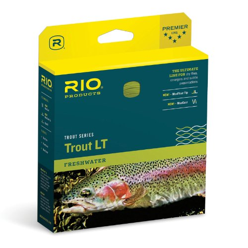 RIO Fly Fishing Fly Line Trout Lt Ultralight Dt00F Fishing