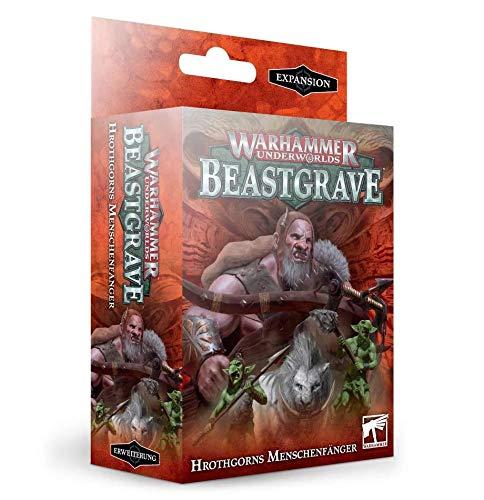 Warhammer Underworlds - Beastgrave Hrothgorns Menschenfänger DE