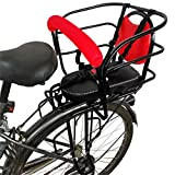 Leilims Bicycle Child Safety Rear Seats, Bicycle Child Seat Electric Car Baby Rear