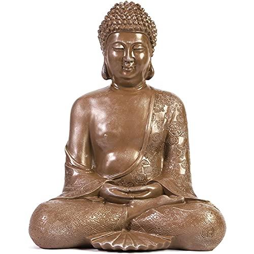 Juvale Decorative Meditating Buddha Statue (11 in)