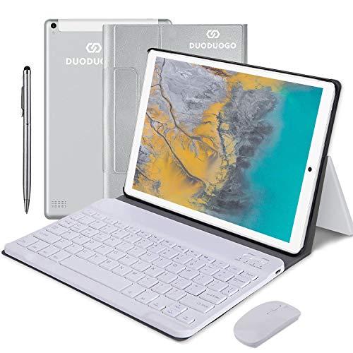 10 Pollici Tablet 4G Android 9.0 2 in 1 Tablet PC, 4GB RAM +64GB ROM 128GB Espansione e Dual SIM Full HD PC, 8000mAh Portatili e Tablet WiFi / GPS / Bluetooth Tablet Con wifi Offerte
