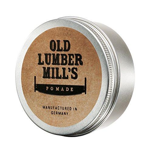 Old Lumber Mill's Pomade 150g | Feinste Haarpomade | Frischer Duft nach Zitrone und Menthol