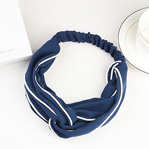 Xin Yu Yue Firm haarband in retrostijl, Koreaans doekje, eenvoudige haren, ornamenten, brede rand, hoofdband