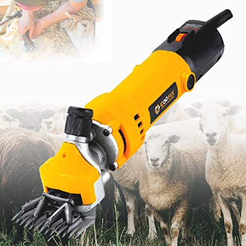 ZPCSAWA Electric Sheep Shearing Clippers, Sheep Equipment 6 Speed And Blade...