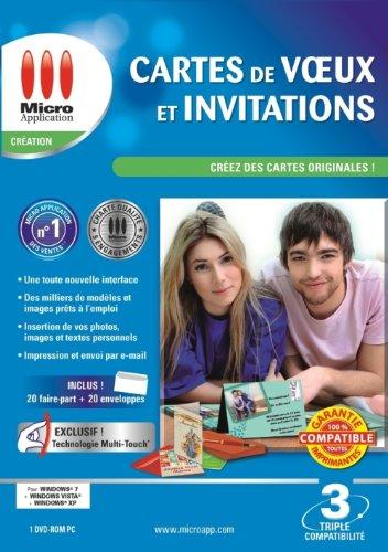 Cartes de vœux et invitations