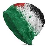 wonzhrui Gorro de Lana de Barco de Papel con Bandera de Palestina para Hombres y Mujeres - Gorro de...