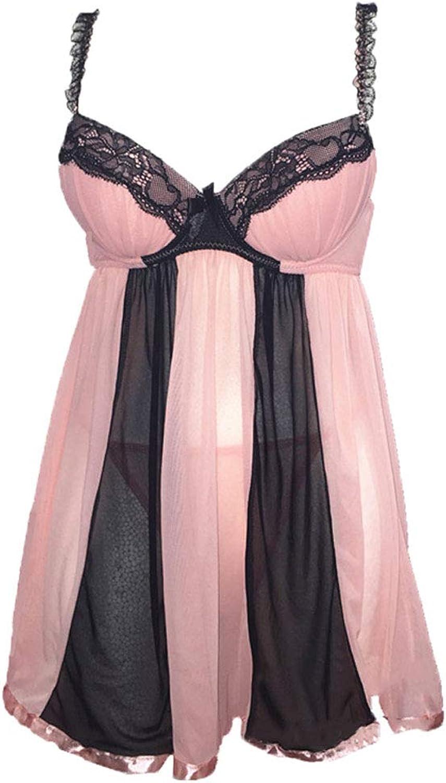 Lingerie Dress Sexy Ladies Pajamas Mesh Fabric Pajamas Babydoll Evening Dress
