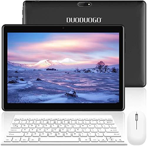 tablet in offerta con sim e wifi 4G Tablet 10.1 Pollici con Wifi Offerte Tablet PC Offerte Android 9.0 8500mAh con Slot per Scheda SIM Doppio Memoria RAM da 3GB+32GB 8MP Camera Quad Core Tablet Sbloccato WiFi/Bluetooth/ GPS/OTG