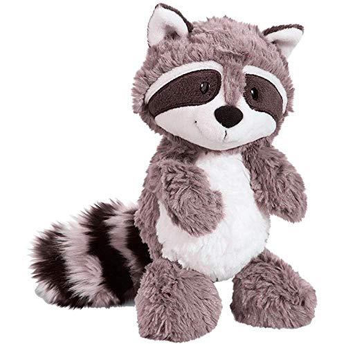 Yunbai regalos lindos del peluche juguetes de peluche de juguete de felpa Muñeca de la felpa del juguete estatuilla mascota almohada animal, 25cm 35cm 55cm gris del mapache de peluche de juguete preci