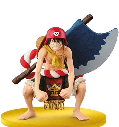 One Piece Scultures - Film Gold Champion - Figurine Ruffy 14cm * original + licensed