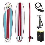 Hydro-Force 8' X 22' X 3'/2.43m X 57cm X 7cm Compact Surf 8 Tabla Hinchable para Paddling, Unisex niños, Multicolor