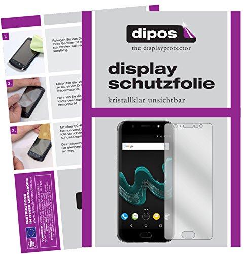 dipos I 6X Schutzfolie klar kompatibel mit Wiko Wim Folie Bildschirmschutzfolie