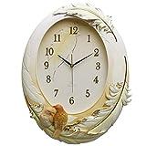 Reloj de pared reloj NHL reloj de pared silencioso de resina, vidrio del dormitorio de la sala de estar Carta de la pared del espejo, pared de fondo Campana de arte de cuarzo de entrada del restaurant