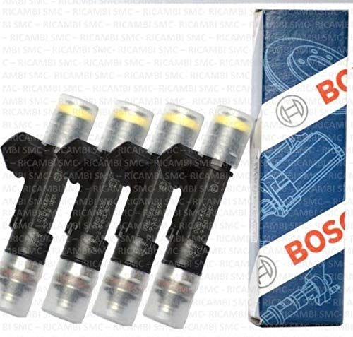 Lasamot Kit Kit guarnizioni iniettori Compatibile con Peugeot 207 307 407 Expert Partner 1.6 HDI 2004