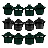 <span class='highlight'><span class='highlight'>simpa</span></span> Set of 12 Slug & Snail Beer Traps - Effective Non Toxic Pest Control for Gardens, Flowerbeds and Vegetable Patches - Reusable, Handy and Safe Pest Control