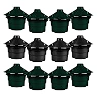 simpa Set of 12 Slug & Snail Beer Traps - Effective Non Toxic Pest Control for Gardens, Flowerbeds and Vegetable Patches - Reusable, Handy and Safe Pest Control