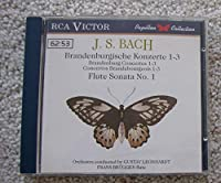 Brandenburgishe Konzerte 1-3・flute Sonata No.1: Leonhardt, Bruggen