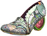 Irregular Choice Damen Sunshine Splash (B128-26/B136-01) Pumps, Green Mint Multi B, 39 EU