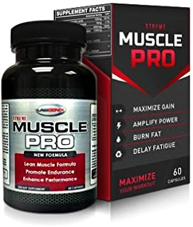 xTreme Muscle Pro: Extra Strength Lean Workout Supplement of L Arginine, Creatine, & Beta-Alenine Stacked Muscle Building ...